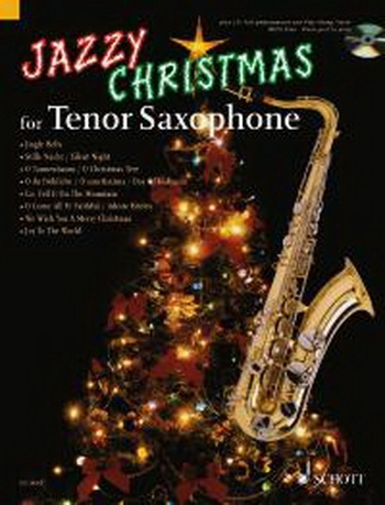 Jazzy Christmas - Tenor Sax - Bk&cd