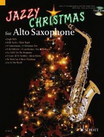 Jazzy Christmas - Alto Sax - Bk&cd