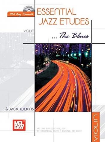 Essential Jazz Etudes The Blues: Violin