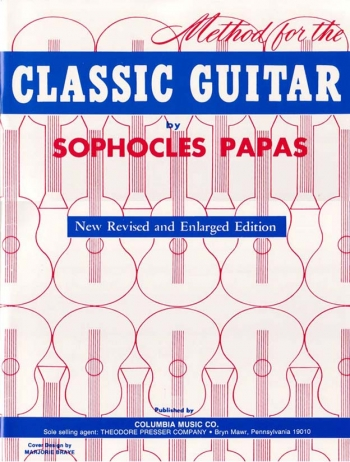 Sophocles Papas Method For The Classic Guitar