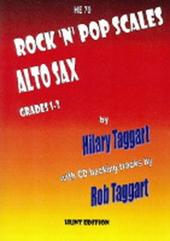 Rock N Pop Scales - Alto Saxophone - Grade 1-3