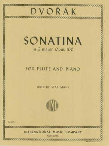 Sonatina in G major: Op100: Flute & Piano (International)