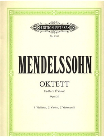 Mendelssohn: Octet Strings: E= Op20: String Parts