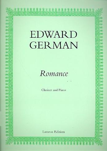 Romance: Clarinet & Piano (Lazarus)