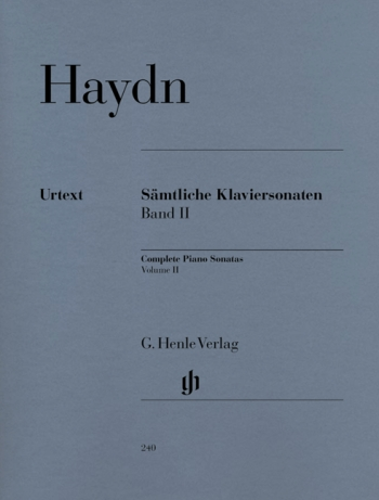 Sonatas: Vol.2: Piano  (Henle Ed)
