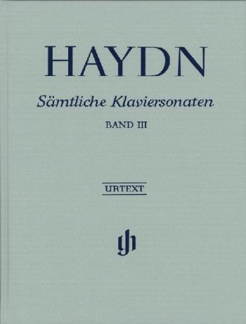 Sonatas Vol.3: Piano: Hardback (Henle)