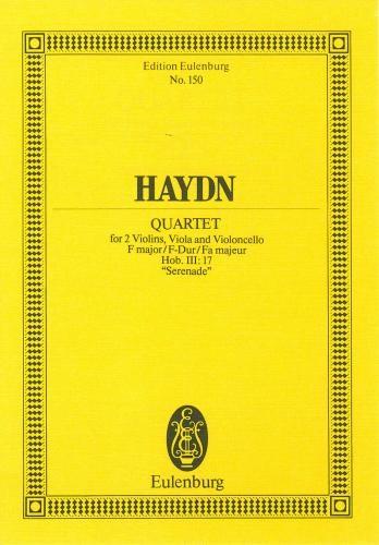 String Quartet: F Major: Op3: 5: Serenade