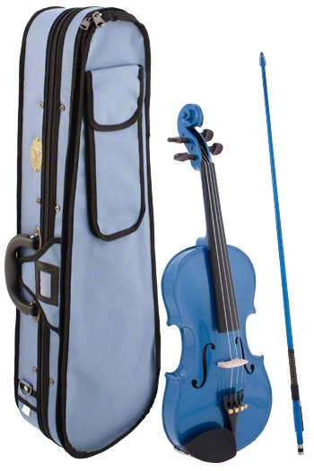 Stentor Harlequin Blue Violin Outfit - Various Sizes