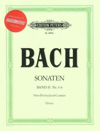Flute Sonatas Vol.2 Bwv1033-Bwv1035: Flute & Piano Book & CD (Peters)
