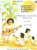 Chansons Et Danses Damerique Latine: D: Guitar Duet
