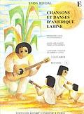 Chansons Et Danses Damerique Latine: E: Guitar Duet