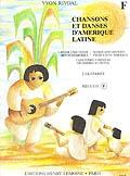 Chansons Et Danses Damerique Latine: F: Guitar Duet