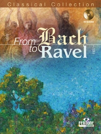 From Bach To Ravel: Alto Sax Book & CD