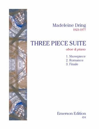 3 Piece Suite Oboe & Piano  (Emerson)