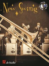 New Swing: Trombone: Bass Clef & Treble Clef: Book & Cd (veldkamp)