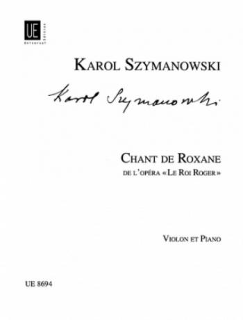Chant De Roxana: Violin and Piano