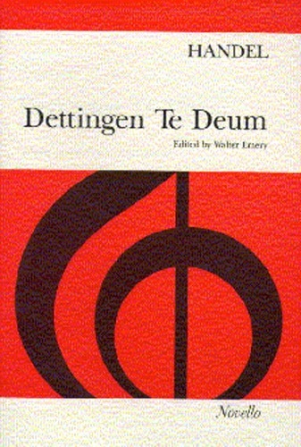 Dettingen Te Deum: Vocal Score