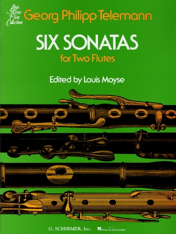 Sonatas 6: For Two Flutes