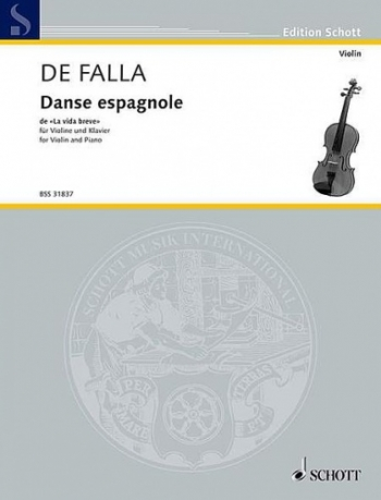 Danse Espagnole: Violin and Piano