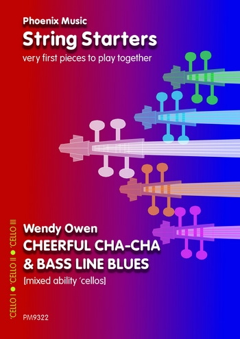 Cheerful Cha-cha and Bass Line Blues: Cello