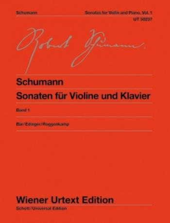 Sonatas: 1: Violin and Piano (Wiener Urtext)