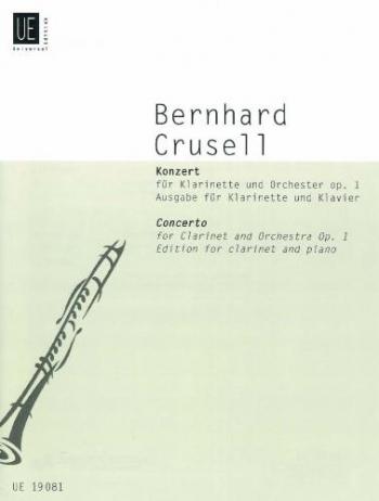 Clarinet Concerto: Eb Major: Op1: Clarinet & Piano  (Universal)