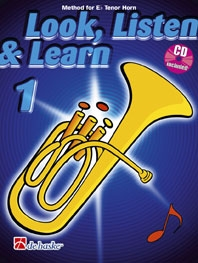 Look Listen & Learn 1 Tenor Horn: Book & Cd (sparke)
