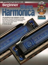 Progressive Beginner Blues Harmonica: Book & CD  (Gelling)