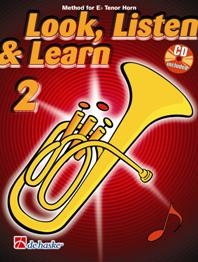 Look Listen & Learn 2 Tenor Horn/Eb Horn: Book & Cd (sparke)