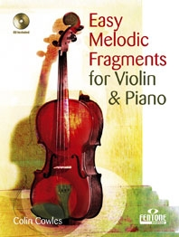 Easy Melodic Fragments: Violin