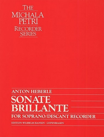 Sonata Brillante: Descant Recorder
