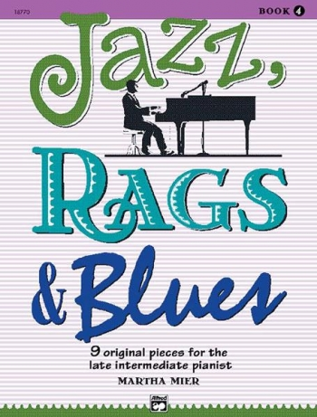 Jazz Rags & Blues Book 4 Piano (mier)