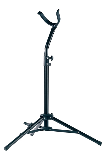 K&M 144/1 Baritone Sax Stand: Black