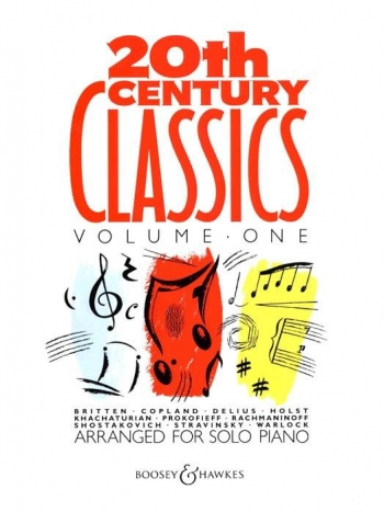 20th Century Classics: Vol,1: Piano Solo