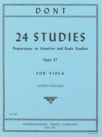 24 Studies: Viola (vieland) (International)