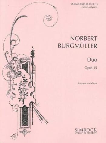 Duo: Op15: Clarinet & Piano