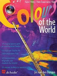 Colours Of The World: Flute: Book & CD