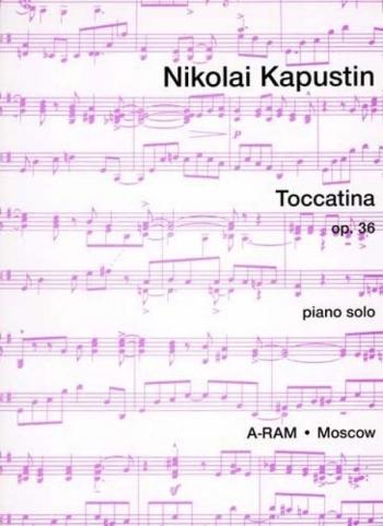 Toccatina Op.36 Solo Piano