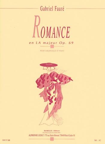 Romance: A Majo: Op69: Cello & Piano (Leduc)