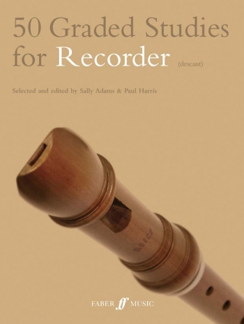 50 Graded Studies For Recorder: Descant Recorder (Adam And Harris)