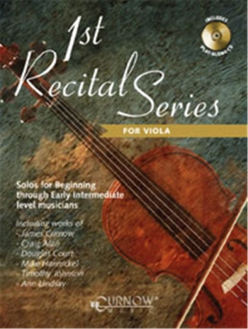 1st Recital Series: Viola: Book & CD  (Curnow)