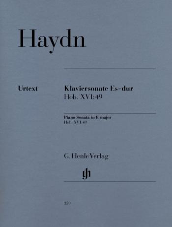 Sonata Eb: Hob16: 49: Piano  (Henle)