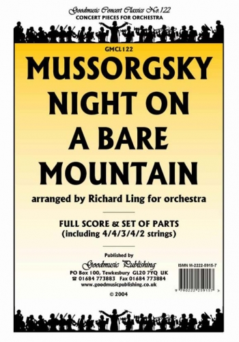Orch/mussorgsky/night On A Bare Mountain/orchestra/scandpts