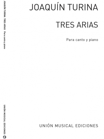 Tres Arias Voice and Piano