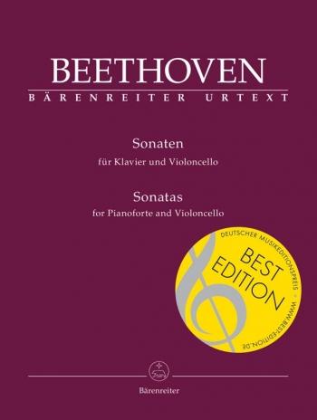 Cello Sonatas: Cello & Piano Urtext  (Barenreiter)