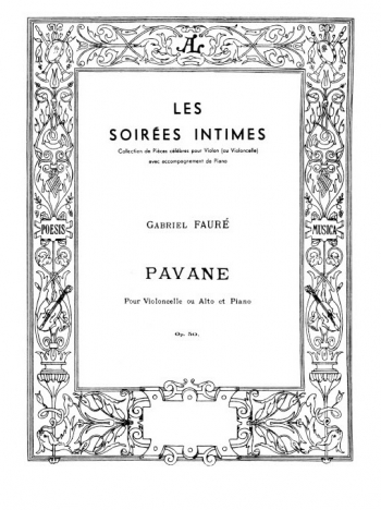 Pavane: Viola Or Cello & Piano (Leduc)