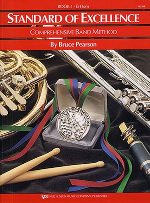 Standard Of Excellence: Comprehensive Band Method Book 1 Tenor Horn