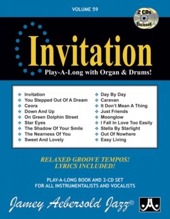 Aebersold Vol.59: Invitation: All Instruments: Book & CD