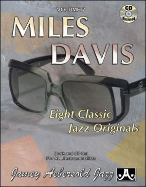 Aebersold Vol.7: Miles Davis: Music: All Instruments: Book & CD