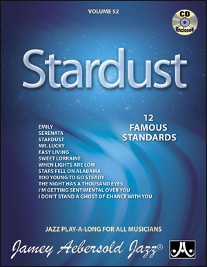 Aebersold Vol.52: Stardust: All Instruments: Book & CD